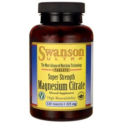 Super-Strength Magnesium Citrate - 120tab