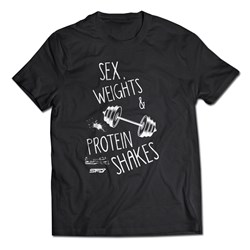 T-shirt Sex Weights & Protein Shakes - 1szt
