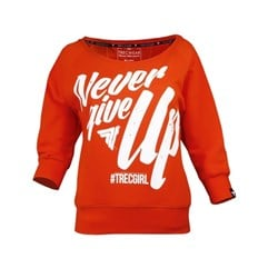 TW Sweatshirt TRECGIRL 01 ORANGE - 1szt