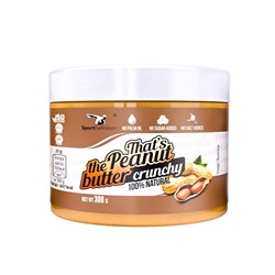 That's the Peanut Butter Crunchy - 300g