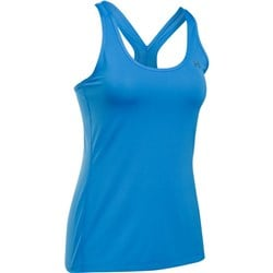 UA Heatgear Armour Racer Tank Light Blue