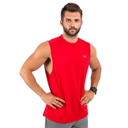 UA Tech Muscle Tank Red