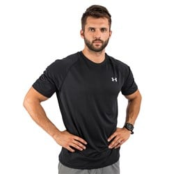 UA Tech Short Sleeve Black
