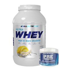 Ultra Whey + Pre Workout - 2500g+120g