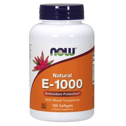 Vitamin E-1000 - 100softgels