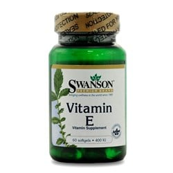 Vitamin E - 60softgels(400IU)