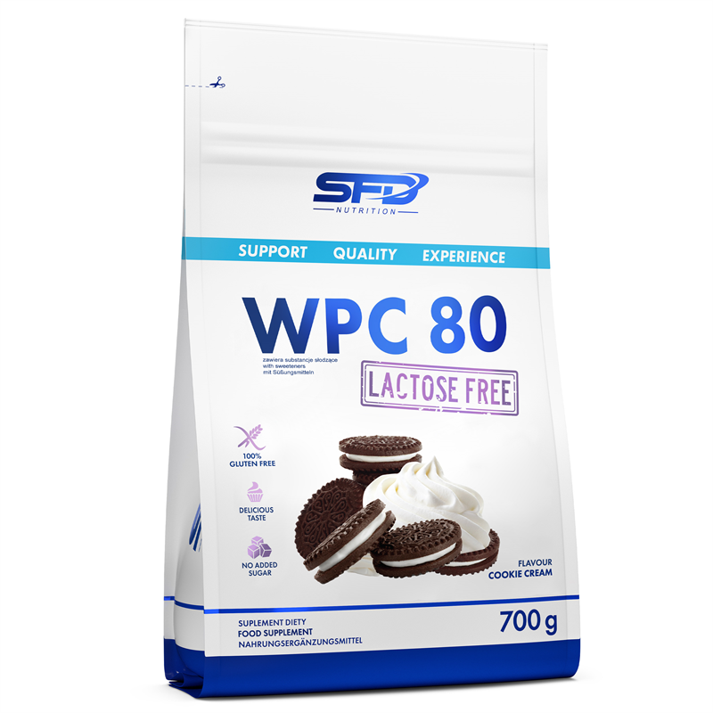 SFD NUTRITION WPC 80 Lactose Free