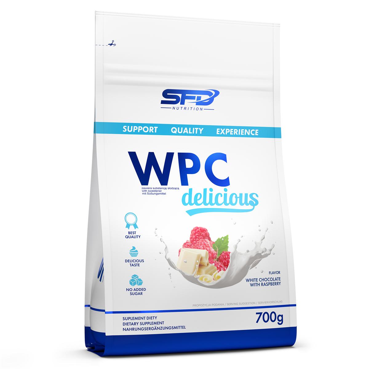 5f7f1c631c46 36 PLN • WPC Delicious Protein 700g - SFD NUTRITION • NAJTANIEJ ...