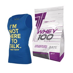 Whey 100 + T-shirt lub Tank Top