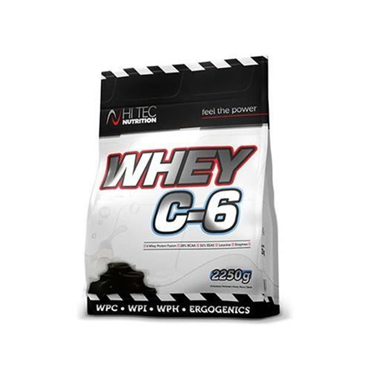 b7a1a10325ab 162 PLN • Whey C-6 2250g - Hi-Tec Nutrition • NAJTANIEJ • Sklep SFD