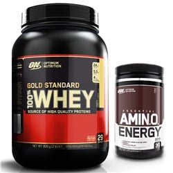 Whey Gold Standard 100% 908g + Amino Energy 270g