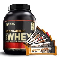 Whey Gold Standard 100% + 6x Protein Whipped Bites GRATIS