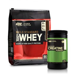 Whey Gold Standard 100% + Creatine Powder - 2740g+634g