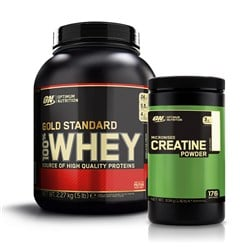 Whey Gold Standard 100% + Creatine Powder