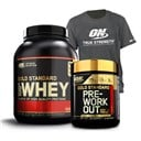 Whey Gold Standard 100% + Gold Standard Pre-Workout