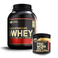 Whey Gold Standard 100% + Trial Pre-Workout