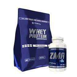 Whey Protein 100 Concentrate + ZMA
