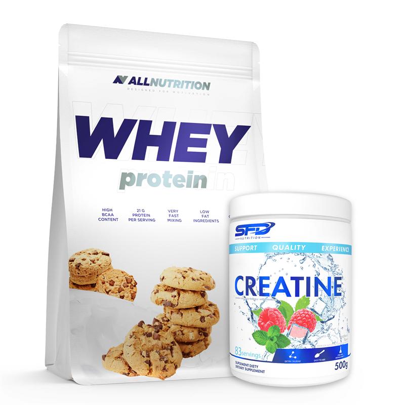 ALLNUTRITION Whey Protein 2270g + Creatine 500g