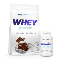 Whey Protein 908g + Burn4ALL 100caps