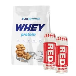 Whey Protein + 2x Red Shock Shot
