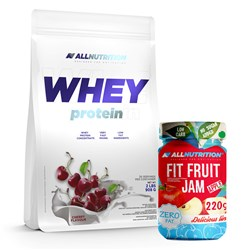 Whey Protein + Fit Fruit Jam - 908g+220g