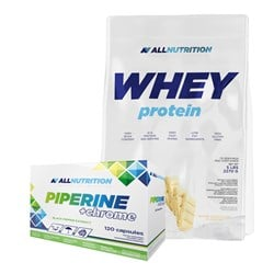 Whey Protein + Piperine+Chrome