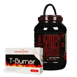 Whey Protein + T-Burner - 1800g+120caps