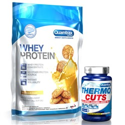 Whey Protein + Thermo Cuts - 2000g+120caps