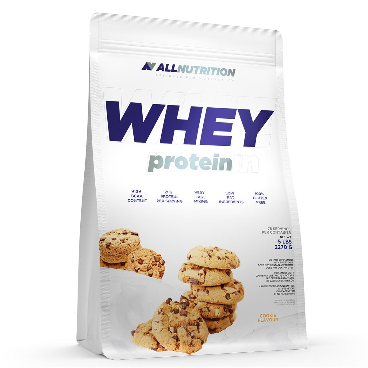 0ab185dfdb81 119 PLN • Whey Protein 2270g - ALLNUTRITION • NAJTANIEJ • Sklep SFD
