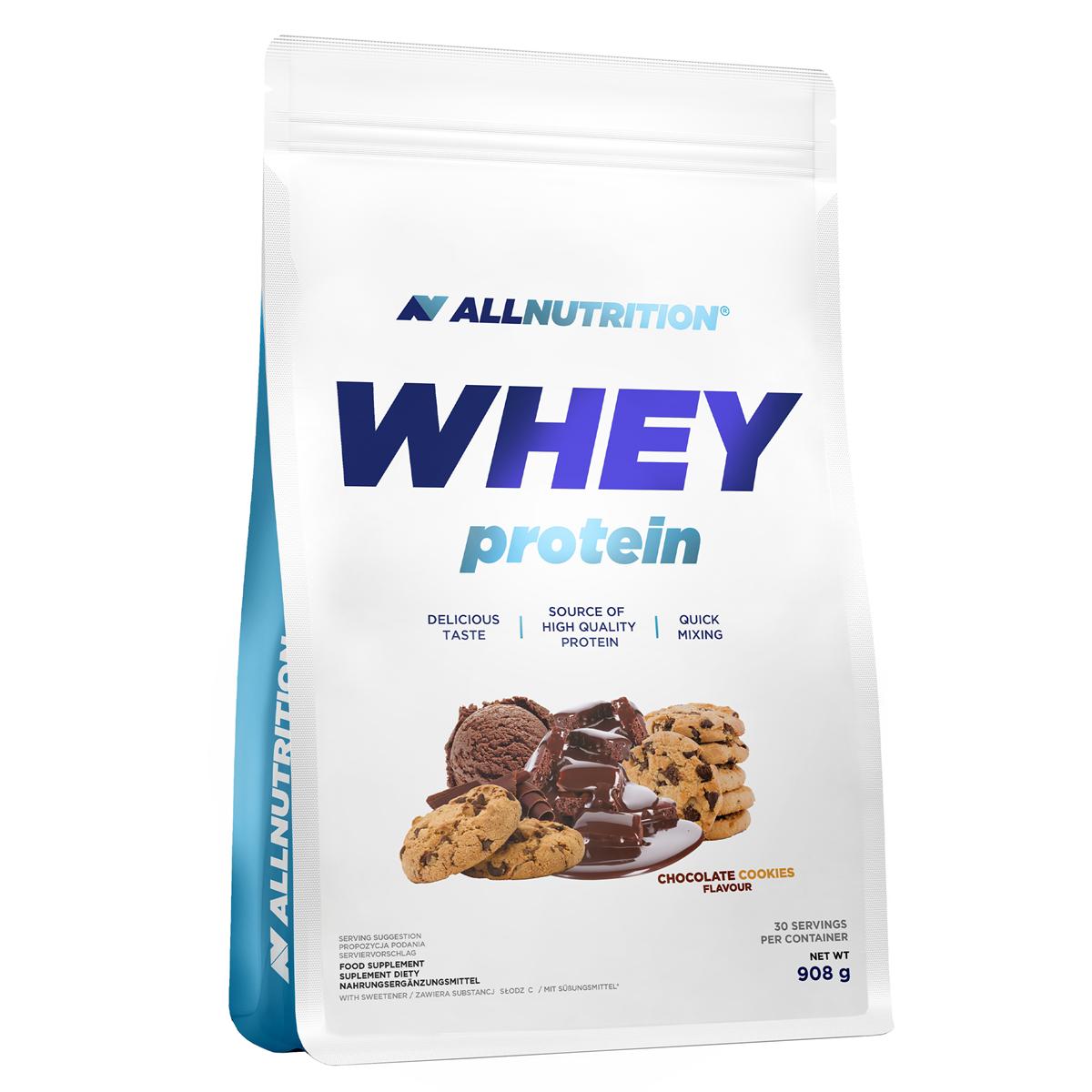 c67f3a97f90d 49 PLN • Whey Protein 908g - ALLNUTRITION • NAJTANIEJ • Sklep SFD
