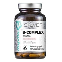 Witamina B-Complex Silver Pure - 120kaps