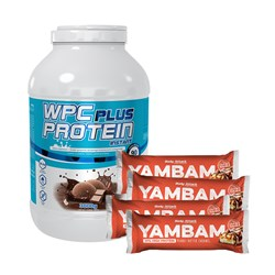 Wpc Protein Plus Limited + 4xYambam - 3000g+4x80g