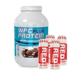 Wpc Protein Plus Limited + 4x Red Shock