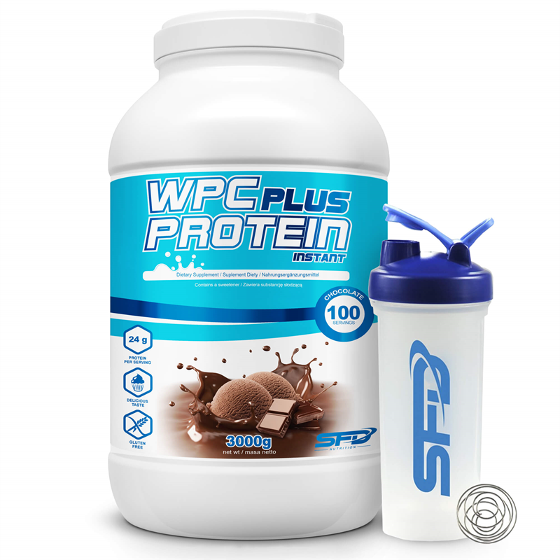 SFD NUTRITION Wpc Protein Plus Limited + Big Shaker