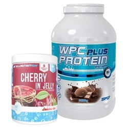 Wpc Protein Plus Limited + Cherry In Jelly - 3000g+1000g