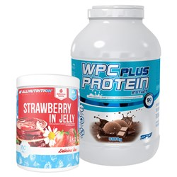 Wpc Protein Plus Limited + Strawberry In Jelly - 3000g+1000g