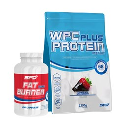 Wpc Protein Plus + Fat Burner - 2250g+100caps